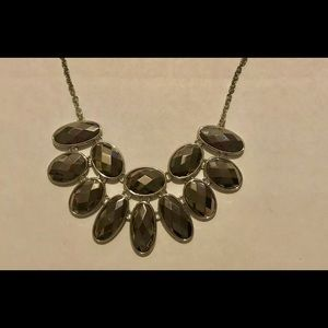 Apt. 9 Gray Crystal Statement Necklace